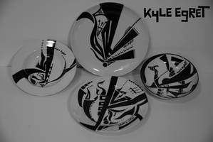 Porcelain Series 'Constellation 4' by Kyle Egret