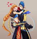 Jinx and Kayn - Odyssey