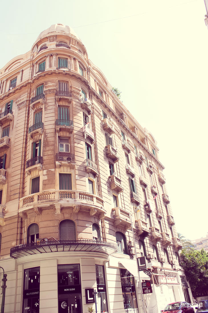 Giant old building by ModyZinc