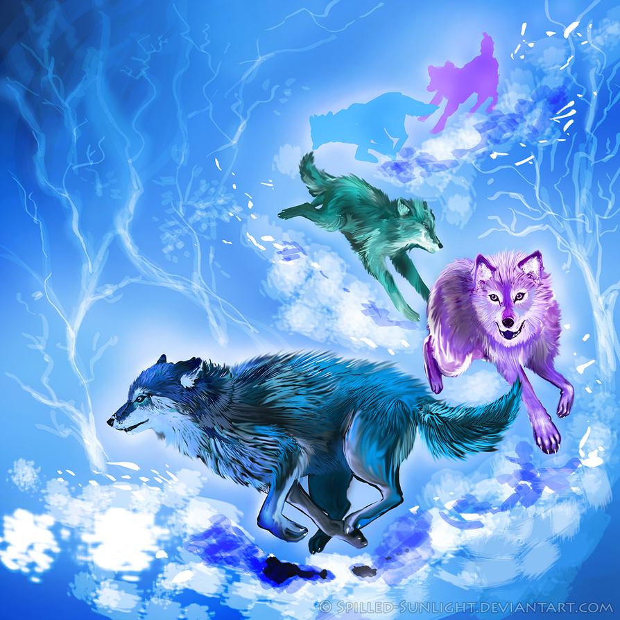 Deep Blue Harmony by Spilled-Sunlight