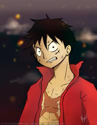 Z Luffy by Spilled-Sunlight