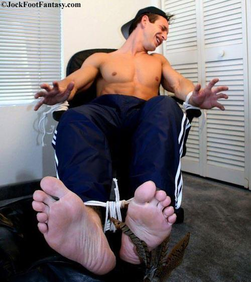 image Mens feet tickle d in film gay foot