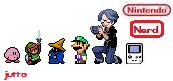Nintendo Nerd Sprite by jutto