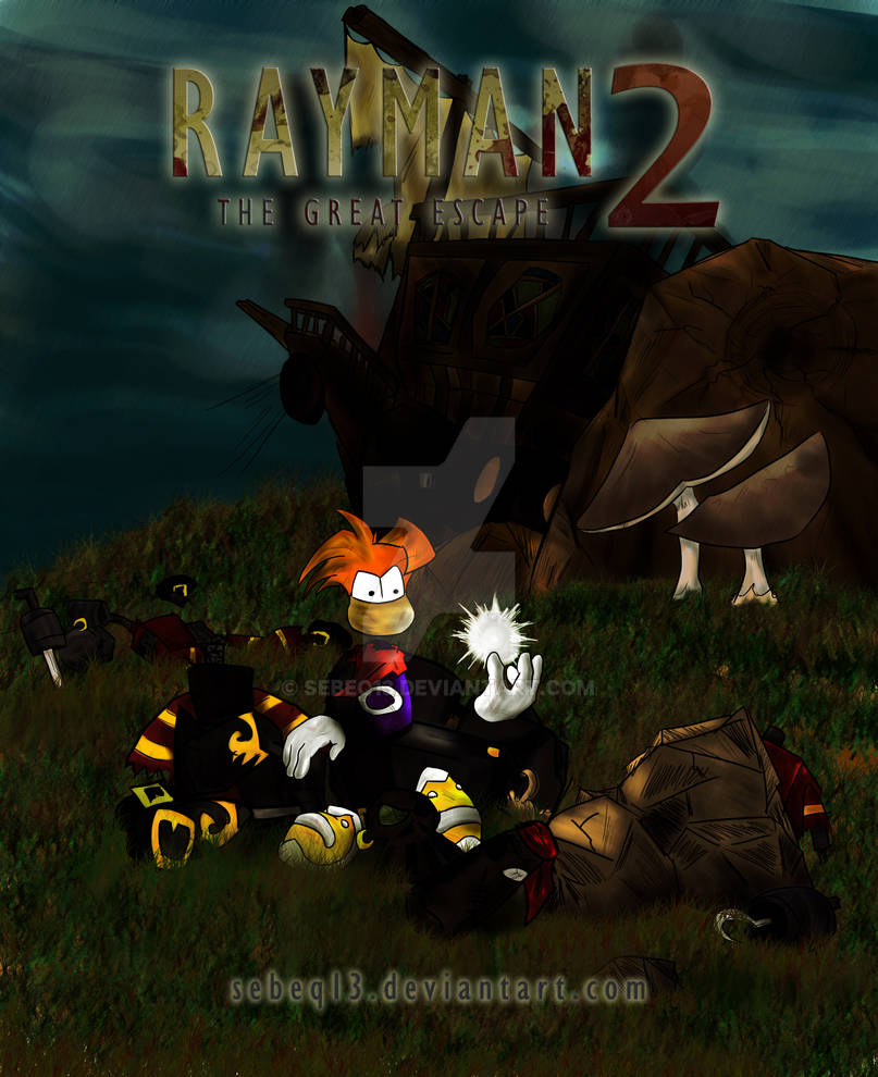 Rayman 2: The Great Escape -cover-
