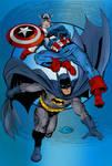 Batman And Captain America (John Byrne)