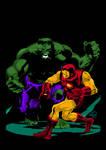 Hulk vs. Iron Man (Lee Weeks)