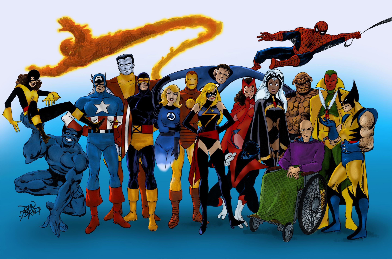 Marvel Heroes (John Byrne)