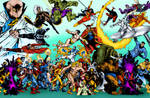 Merry Marvel Marching Confusion (Michael Golden) 2