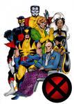 X-Men Pin-Up (John Byrne)