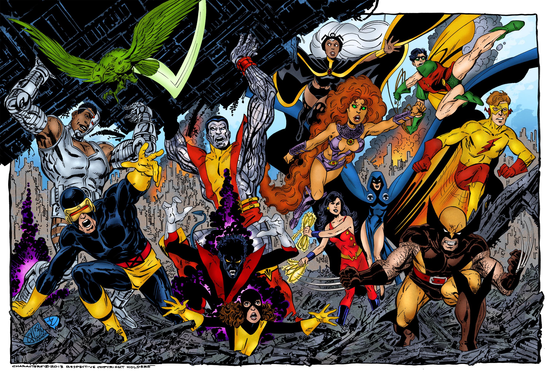 X-Men And Teen Titans Team-Up (John Byrne)