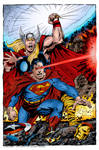 Thor And Superman (John Byrne)