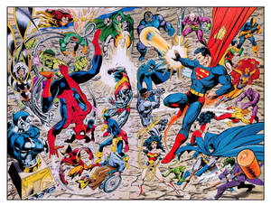 DC - Marvel Heroes vs. Villains (John Byrne)