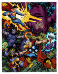 Marvel-DC Heroes And Villains (John Byrne)