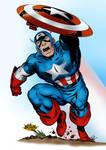 Captain America Pin-Up (John Byrne)