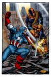 Captain America vs. Deathstroke (John Byrne)