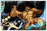 Alpha Flight vs. Tunndra (John Byrne)