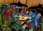 Captain America vs. Red Skull (John Byrme)