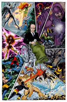 X-Men X Marks The Spot (John Byrne)