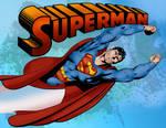 Superman Pin-Up (John Byrne)
