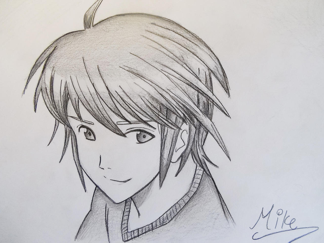 Manga Style Boy By Mcorderroure On Deviantart Boy And Anime Drawing