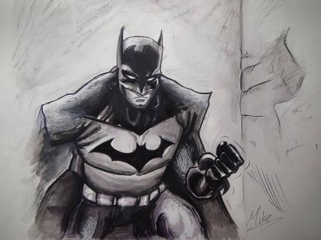The Dark Knight: Batman Drawing