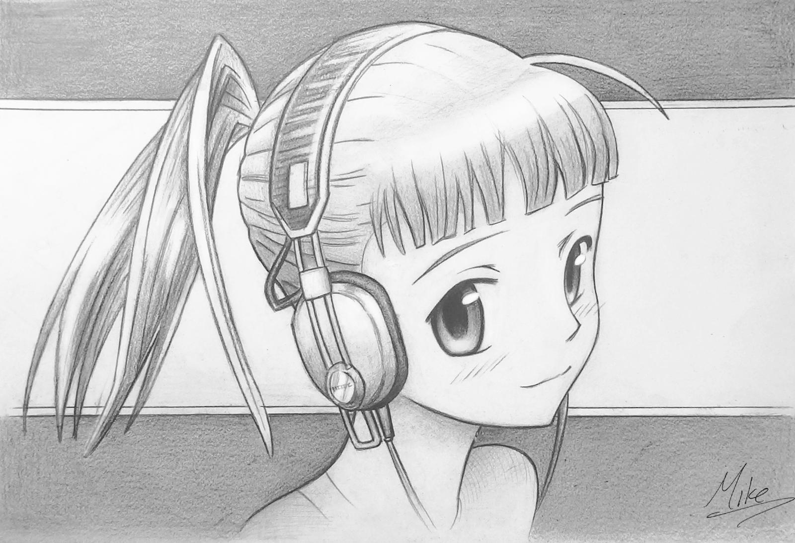Manga Headphones