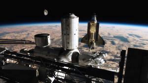 Space Shuttle - Final Docking