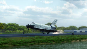 Space Shuttle - Touch Down