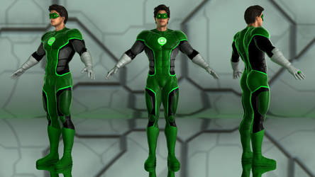 Hal Jordan - Green Lantern for G2M by geminii23