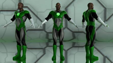 Jon Stewart - Green Lantern for G2M by geminii23