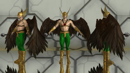 Hawkman for G3M by geminii23