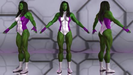She-Hulk for G2F by geminii23