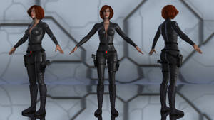 Black Widow for G3F