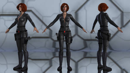 Black Widow for G3F by geminii23