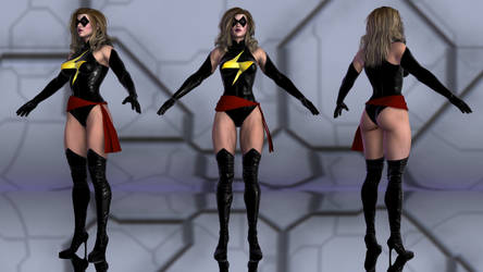 Ms Marvel for G2F by geminii23