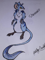 Chipneed - Blue Rodent  by Doggydeath