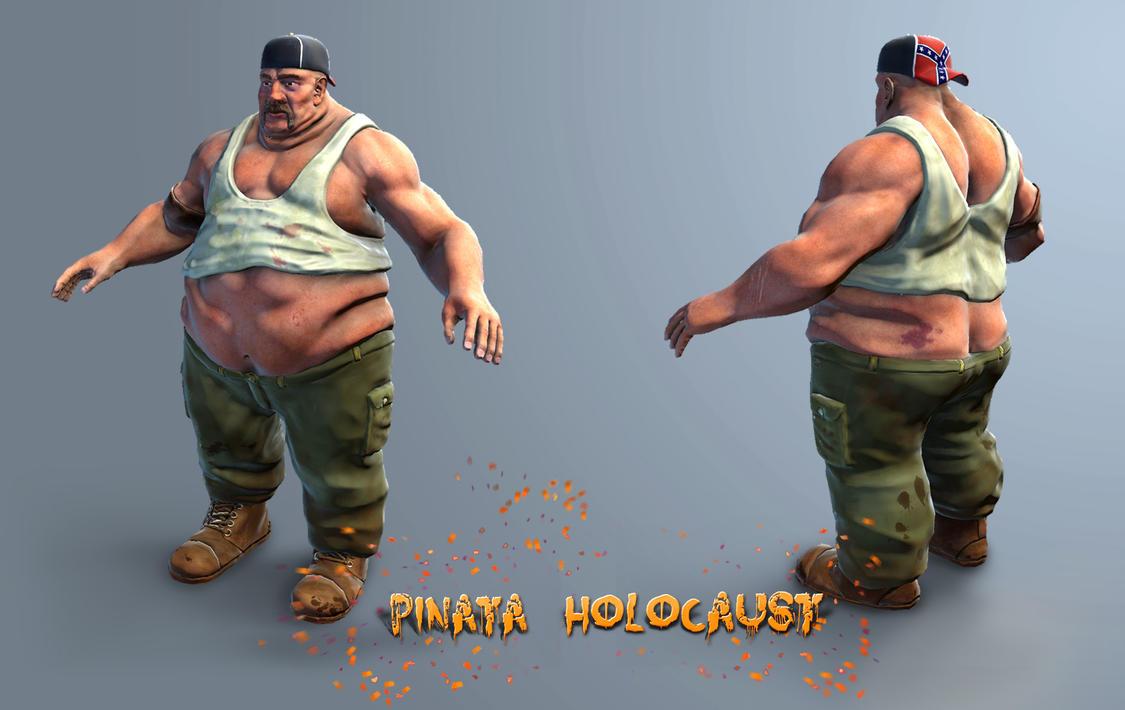 Pinata Holocaust : Character by Zenutron