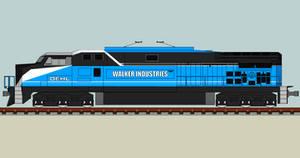 Diesel Electric Hybrid Locomotive