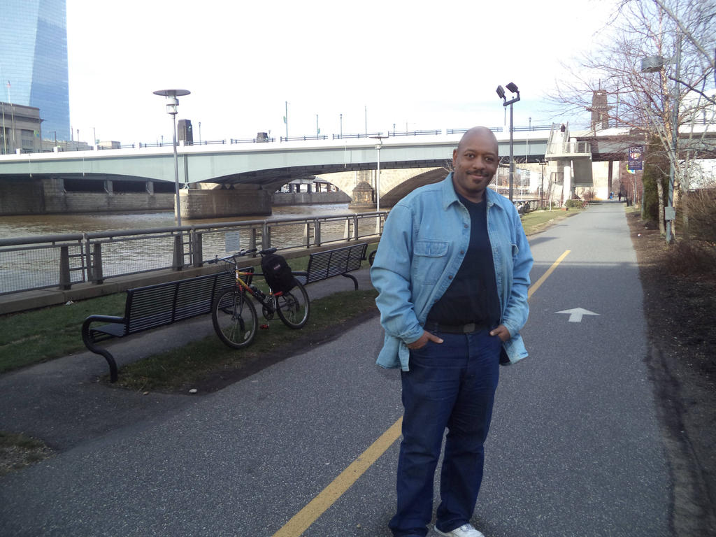 Tony by the Schuykill River by Captain86