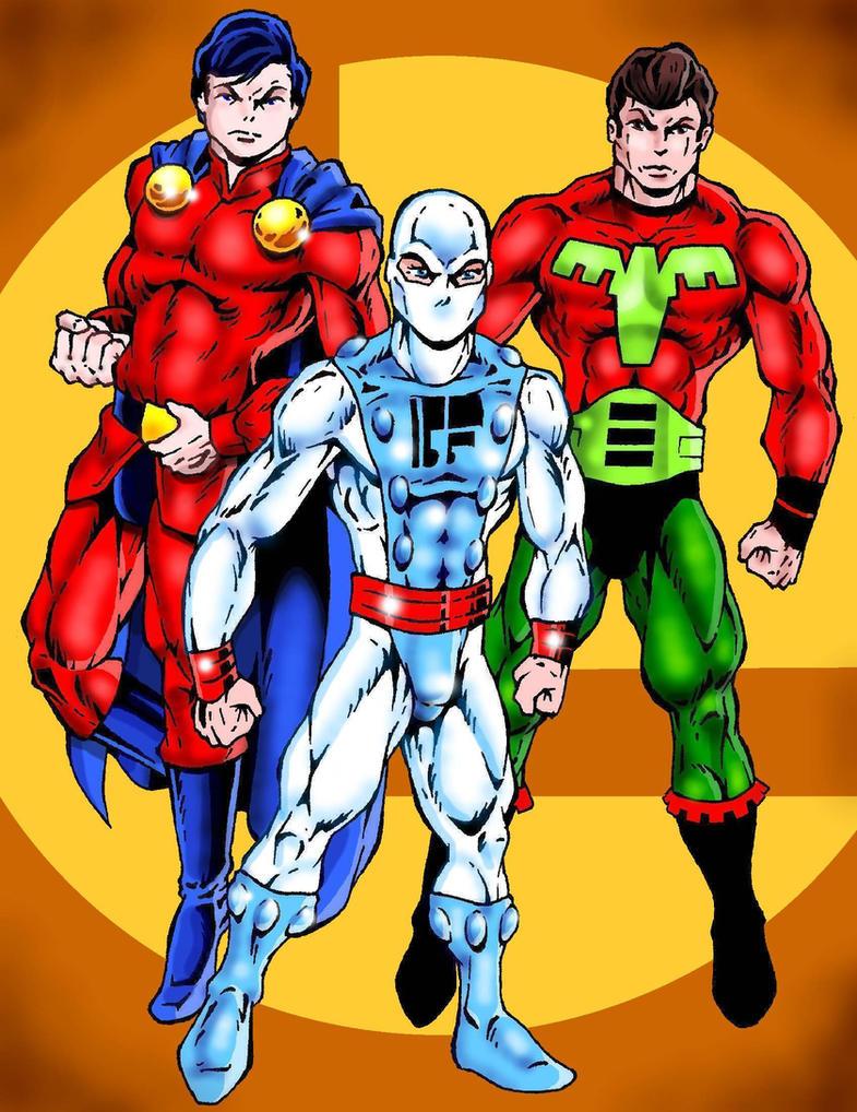 My Fav Legionnaires - Mon-El  Ferro Lad  Ultra Boy by Captain86