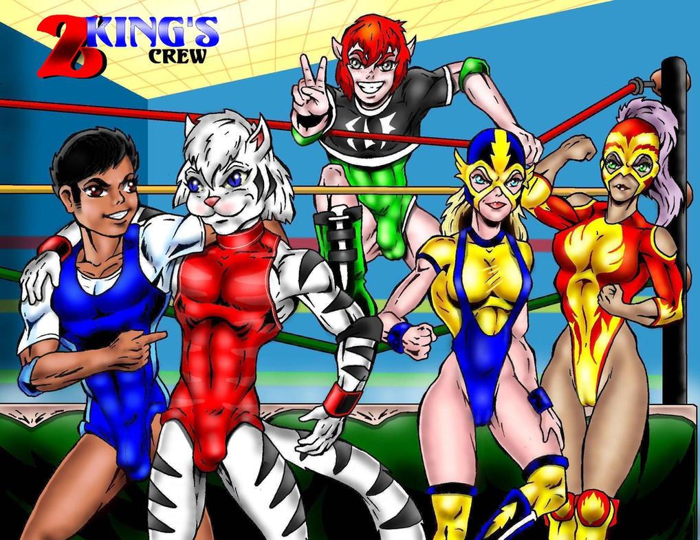 Gift for ZKFanart-Z King Crew by Captain86
