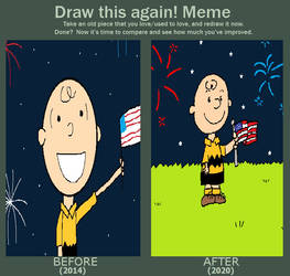 Draw This Again - Charlie Brown's 4th of July