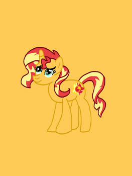 Sunset Shimmer (colored)