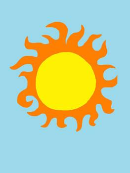 Sun (colored)