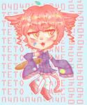 Vocaloid UTAU Teto Kasane Fanart by Pastelli-kiwi