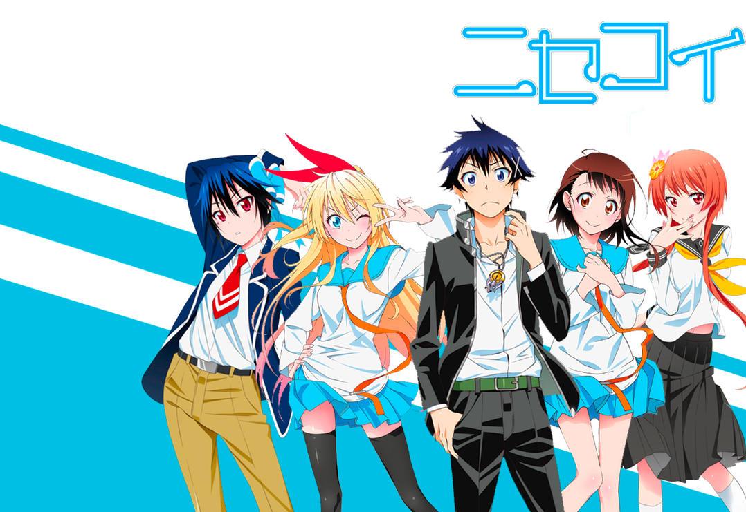 Image result for nisekoi wallpaper