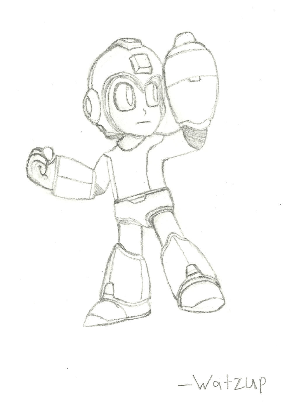 super smash bros for wii u 3ds character mega man by watzup7856