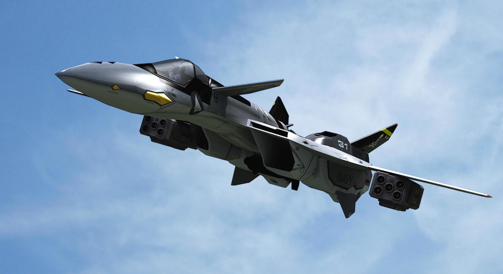 ... YF-19 V2 by pjacubinas