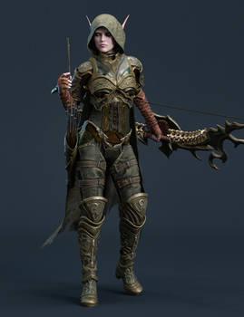 Archer- Light Armor Test