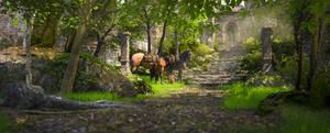 LOOK!! HORSES!!